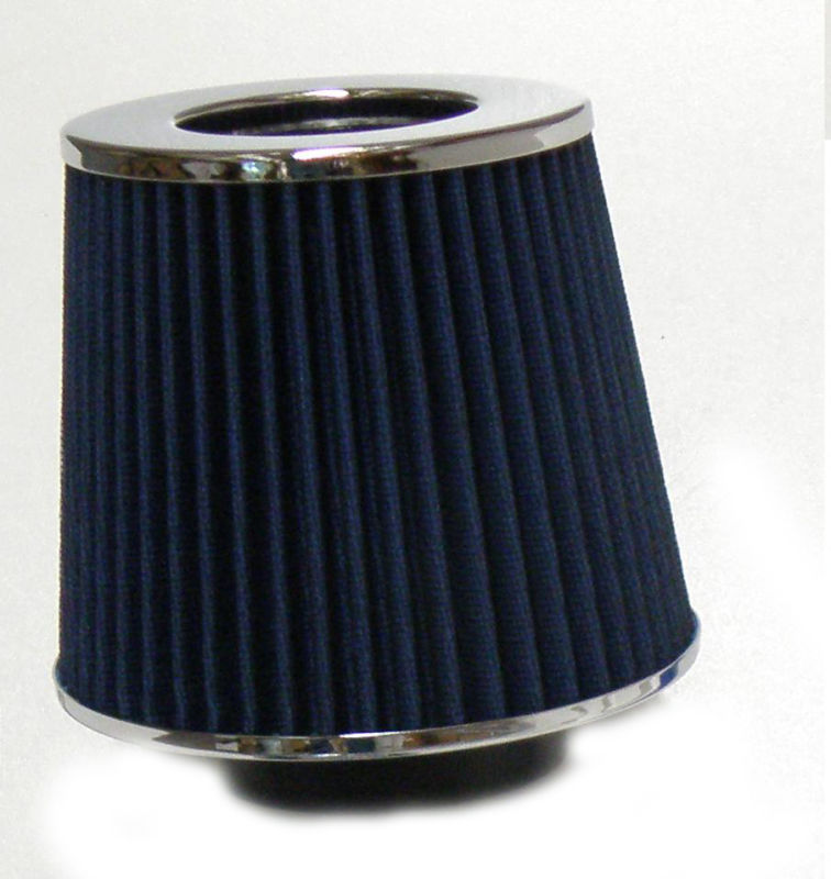 UNIVERSAL BLUE CONE STYLE AIR INDUCTION FILTER VAG